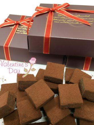 バレンタイン生チョコ